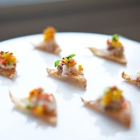 crab and apricot salad crisp