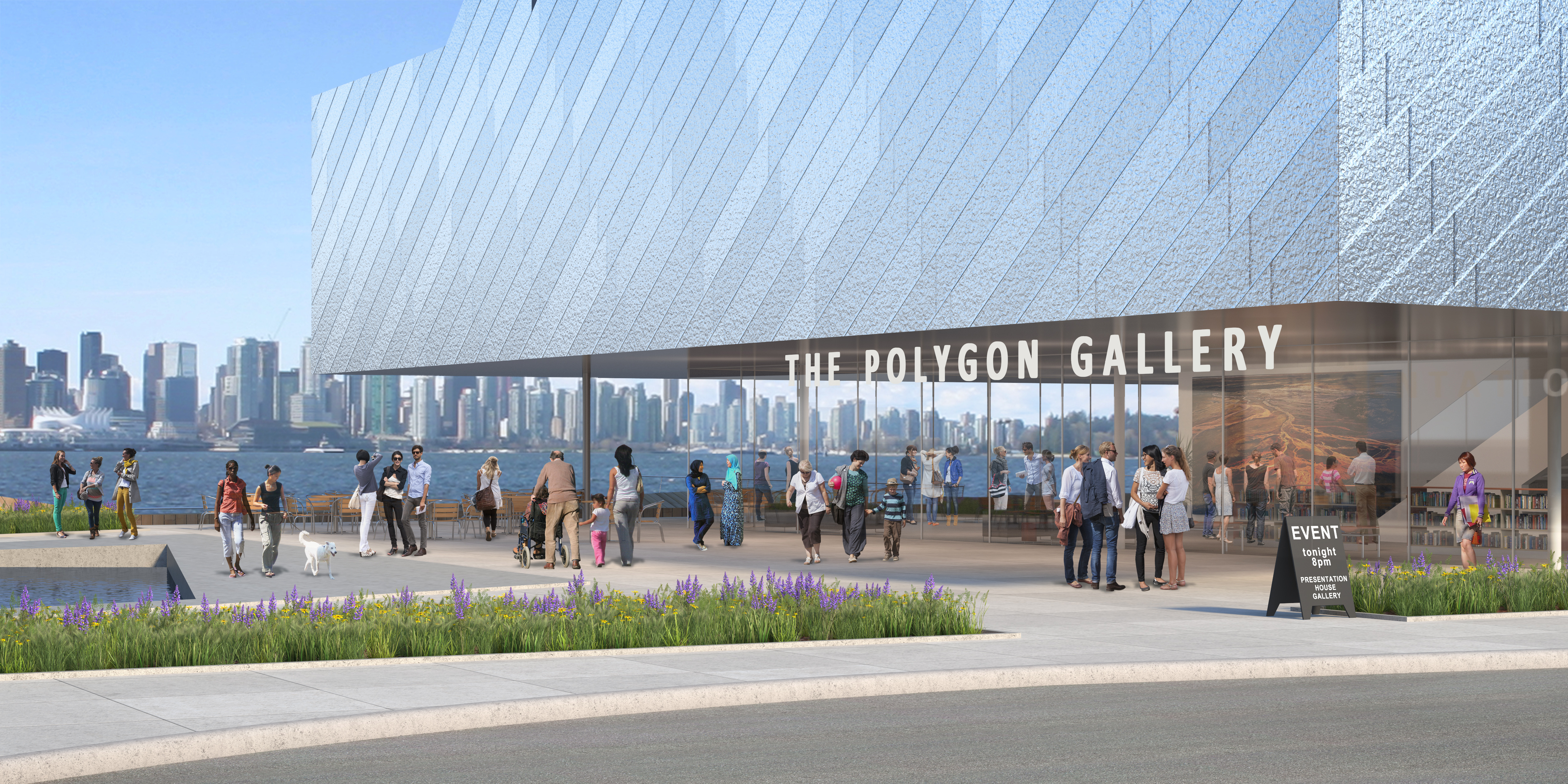 2014.11.17 The Polygon Gallery - with City
