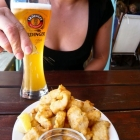 Fritters and Beer