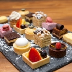 mixed assorted desserts