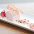 strawberry pistachio mousse