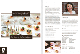PDF Savoury Chef Brochure Photo