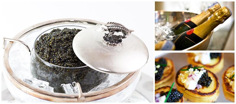 Caviar & Champagne Bar