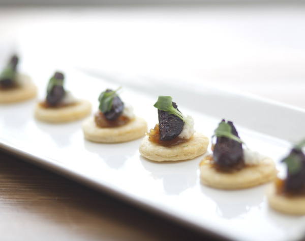 fig & goat cheese tarts – Savoury Chef Foods