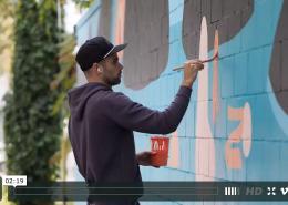 Luke Ramsey Mural Vancouver - Savoury Chef