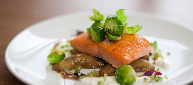 Plated Catering: Wild BC Salmon
