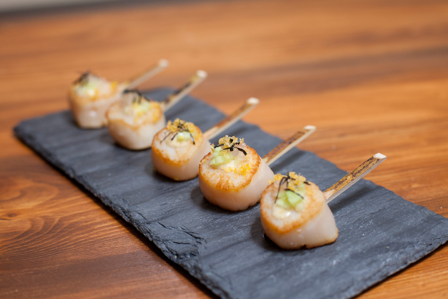 Hors D'oeuvres Catering: Seared Scallops