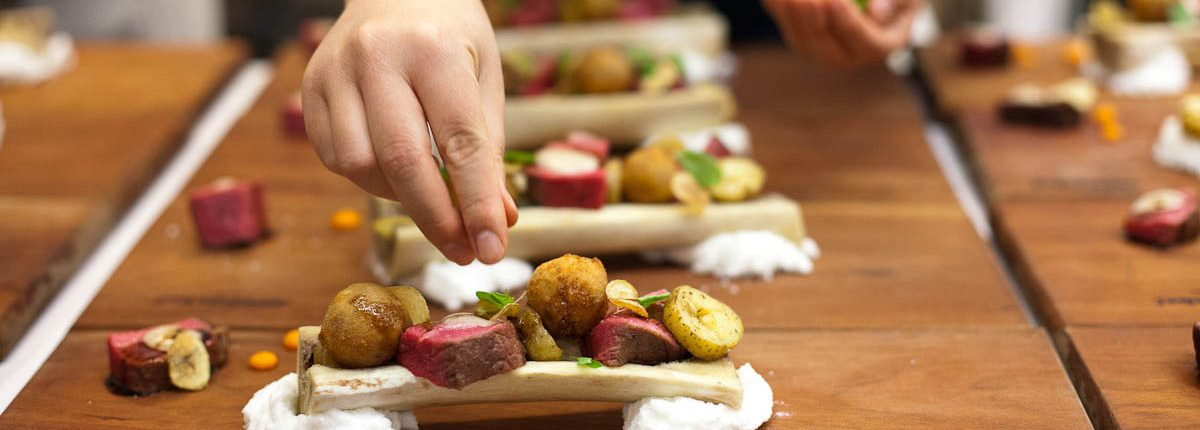 Vancouver Catering: Meat & Bone, Cache Creek Beef, Marrow Emulsion, Potato