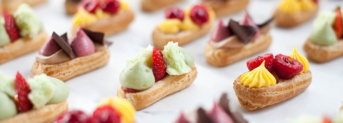Savoury Chef Seasonal Mini Eclairs