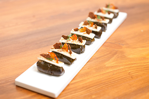 Corporate Canapes: Dolmades